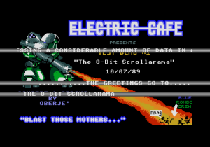 Electric Cafe Test Demo #1